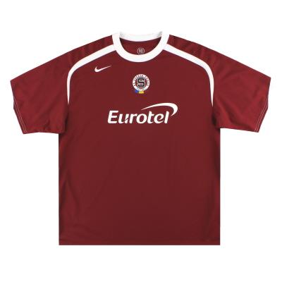 2005-06 Sparta Prague Nike Home Shirt *Mint* XXL