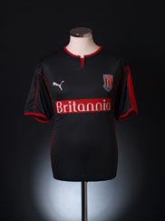 2005-06 Stoke City Away Shirt M