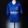 2005-06 Strasbourg Match Issue Home Shirt Devaux #3 XL