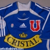 2005-06 Universidad de Chile Player Issue Home Shirt Droguett #4 S