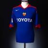 2005-06 Valencia Away Shirt Aimar #21 S