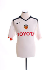 2005-06 Valencia Home Shirt M