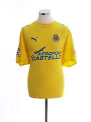 2005-06 Villarreal Home Shirt L