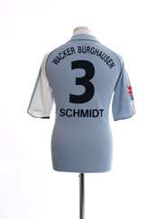 2005-06 Wacker Burghausen Home Shirt Schmidt #3 S