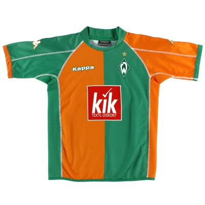 2005-06 Werder Bremen Home Shirt Y