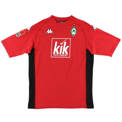 2005-06 Werder Bremen Third Shirt L