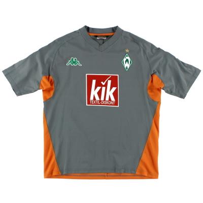 2005-06 Werder Bremen Training Shirt XL