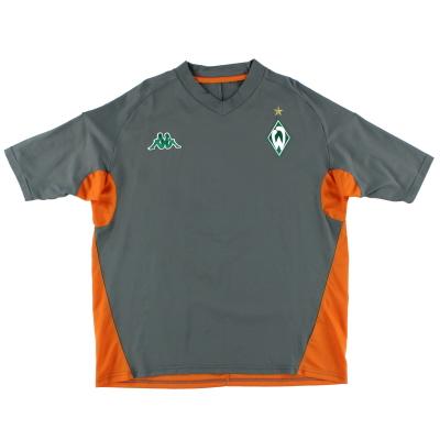 2005-06 Werder Bremen Training Shirt L