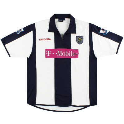 2005-06 West Brom Diadora Home Shirt L