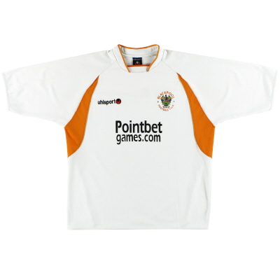 2005-07 Blackpool uhlsport Away Shirt XL