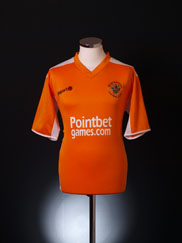 2005-07 Blackpool Home Shirt XXL