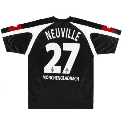 2005-07 Borussia Monchengladbach Lotto Away Shirt Neuville #27 M