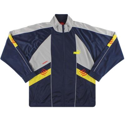 2005-07 Catalunya Puma Track Jacket S