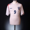 2005-07 England Home Shirt Rooney #9 M