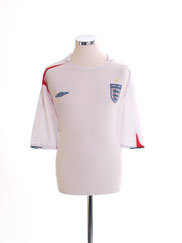 2005-07 England Home Shirt XXXL