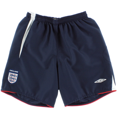 2005-07 England Home Shorts S