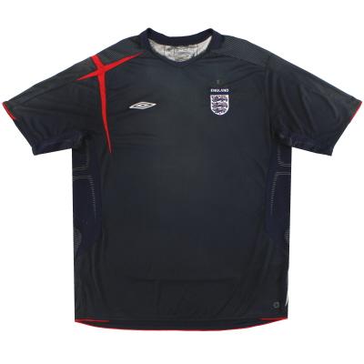 2005-07 England Umbro Goalkeeper Shirt XXL