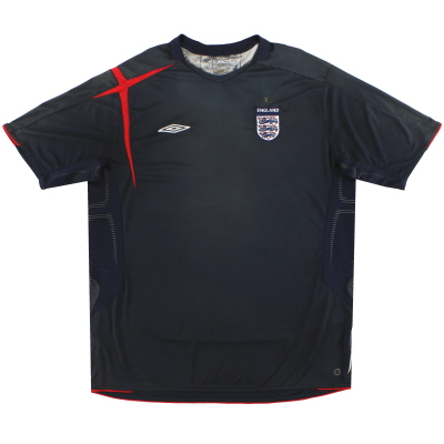 2005-07 England Umbro Goalkeeper Shirt XL