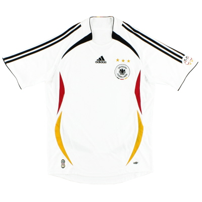 2005-07 Germany adidas Home Shirt *Mint* XL