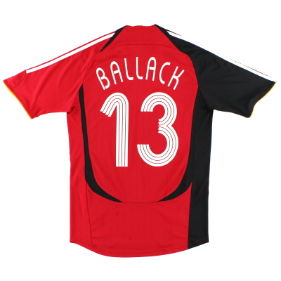 2005-07 Germany Away Shirt Ballack #13 S