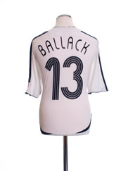 2005-07 Germany Home Shirt Ballack #13 L