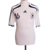2005-07 Germany Home Shirt Lahm #16 S