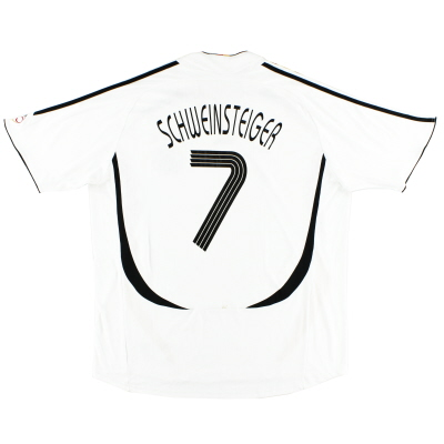 2005-07 Germany Home Shirt Schweinsteiger #7 XXL