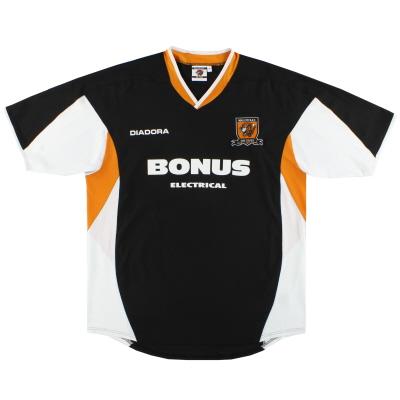 2005-07 Hull City Diadora Away Shirt L