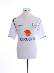 2005-07 Ireland Away Shirt L