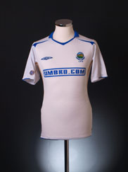 2005-07 Linfield Away Shirt S