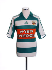 2005-07 Rapid Vienna Home Shirt S