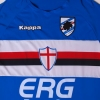 2005-07 Sampdoria Player Issue Home Shirt M