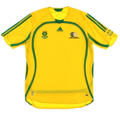 2005-07 South Africa Home Shirt XXL