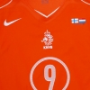 2005 Holland 'v Finland' Player Issue Home Shirt #9 *Mint* XL