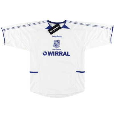 2005 Tranmere Rovers 'Play-offs' Home Shirt *w/tags* M