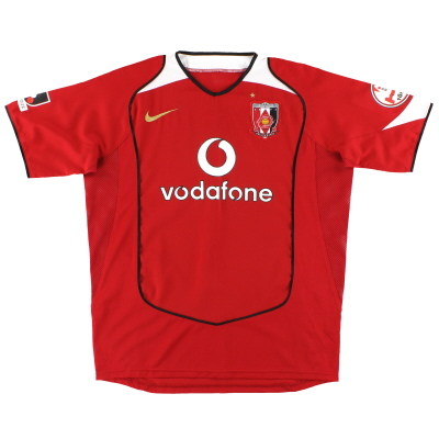 2005 Urawa Red Diamonds Nike Home Shirt L