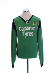 2006-07 Aberystwyth FC Match Issue Home Shirt #14 L/S XL