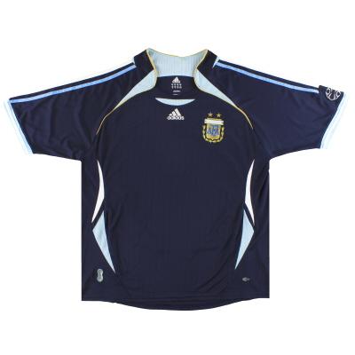 2006-07 Argentina adidas Away Shirt XL