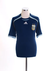 2006-07 Argentina Away Shirt *Mint* M