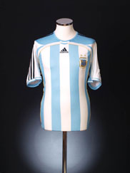 2006-07 Argentina Home Shirt *As New* L