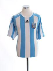 2006-07 Argentina Home Shirt L