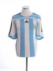 2006-07 Argentina Home Shirt M