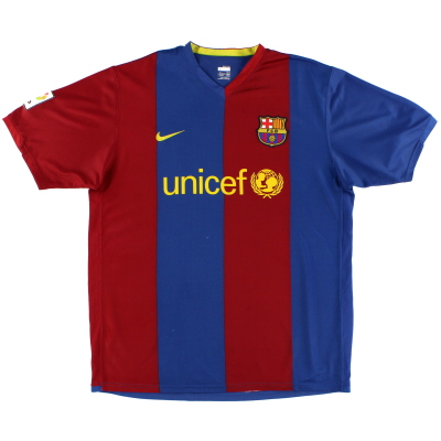 2006-07 Barcelona Home Shirt XL