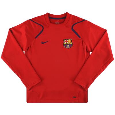 2006-07 Barcelona Nike Training Top S
