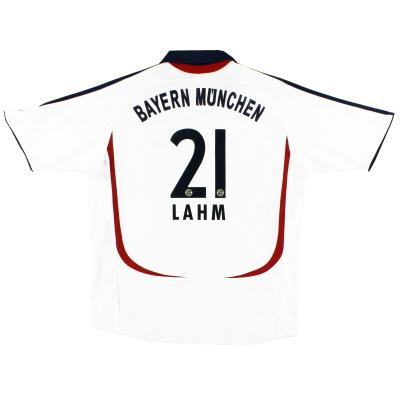 2006-07 Bayern Munich Away Shirt Lahm #21 XS