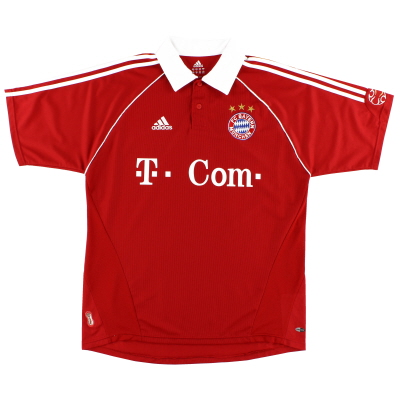 2006-07 Bayern Munich Home Shirt XXL