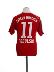 2006-07 Bayern Munich Home Shirt Podolski #11 S