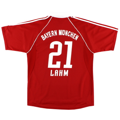 2006-07 Bayern Munich Home Shirt Lahm #21 *Mint* XL