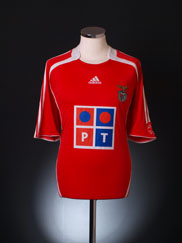 2006-07 Benfica Home Shirt XS