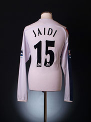 2006-07 Bolton Match Issue Home Shirt Jaidi #15 L/S XL